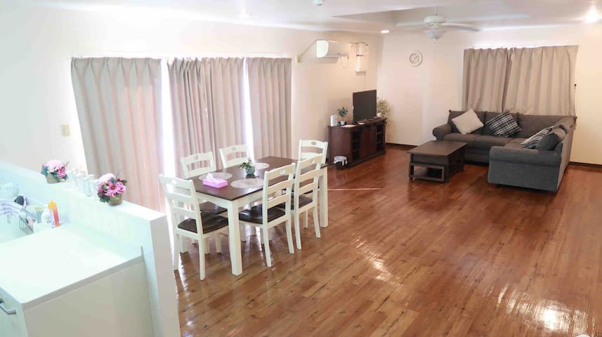 New Open-3rooms Max15ppl  Ruby House IN ZANPA