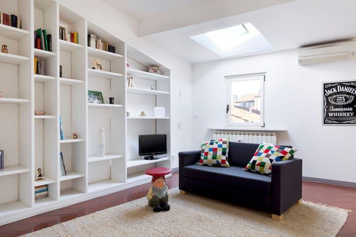 The living room | sofa, TV