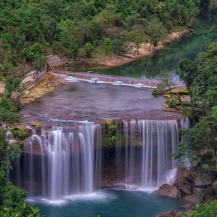 Krang Shuri Falls Camping ( Breakfast & A Meal )