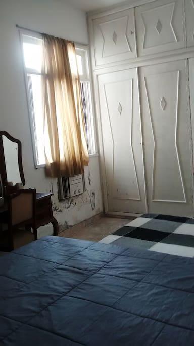 Mesmo quarto ar condicionado