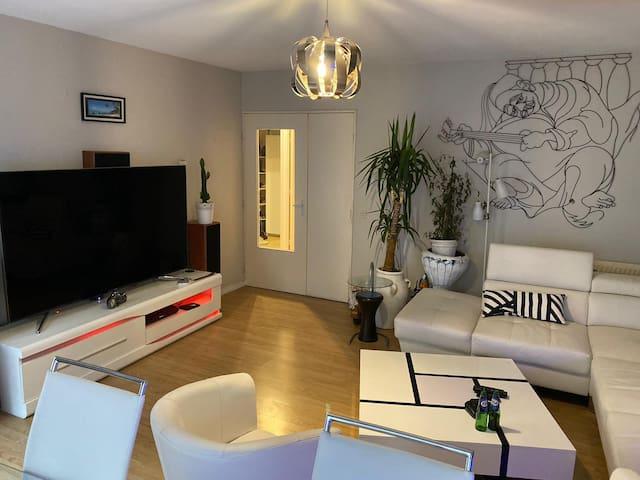 Appartement idéal proche de toutes commodités