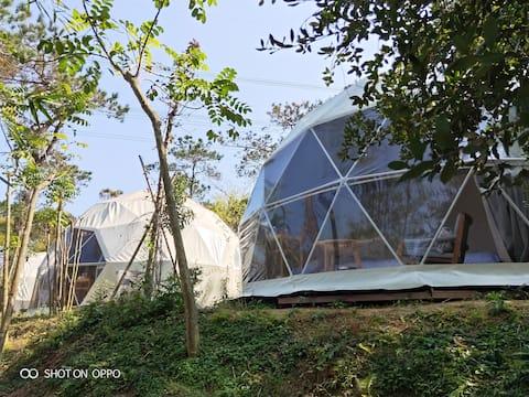 罗浮山星空帐篷大床民宿,最值得体验的特色新民宿。吸氧好去处!