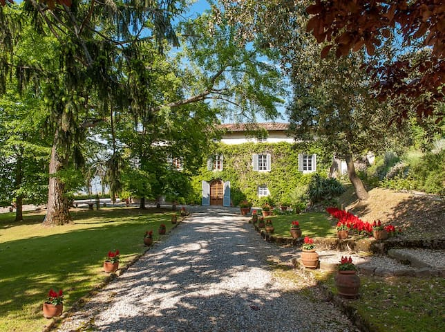 Historical villa on the hills of Lucca - Capannori - Aamiaismajoitus