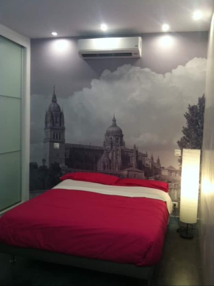 Loft de diseño, como habitación de hotel Bolivar.