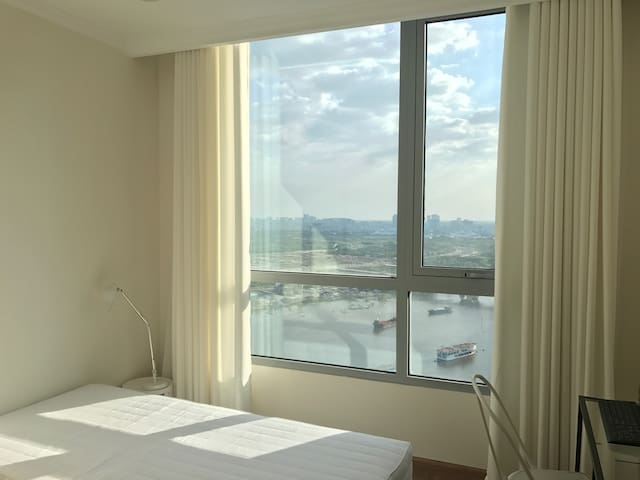 newly open : 1BR 3beds, pool, new and nice view - Ho Chi Minh City - Leilighet
