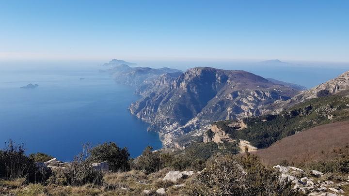Mount 3 Calli - high path of the Gods.