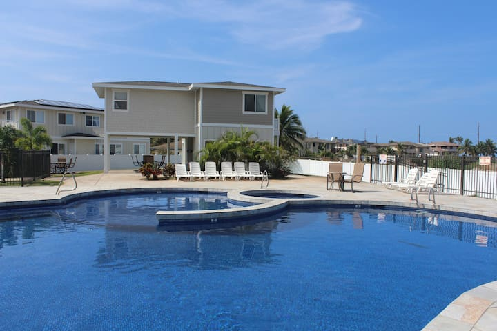 West Oahu Hawaii Beach Pool House Apartment - Waianae