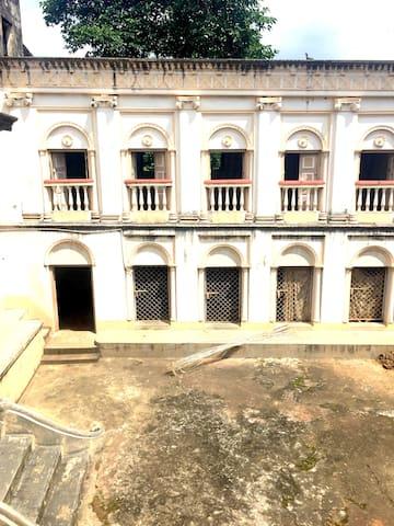 Durga Bari courtyard
