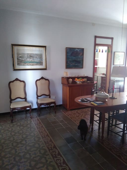 Recibidor y comedor/hall and dining room