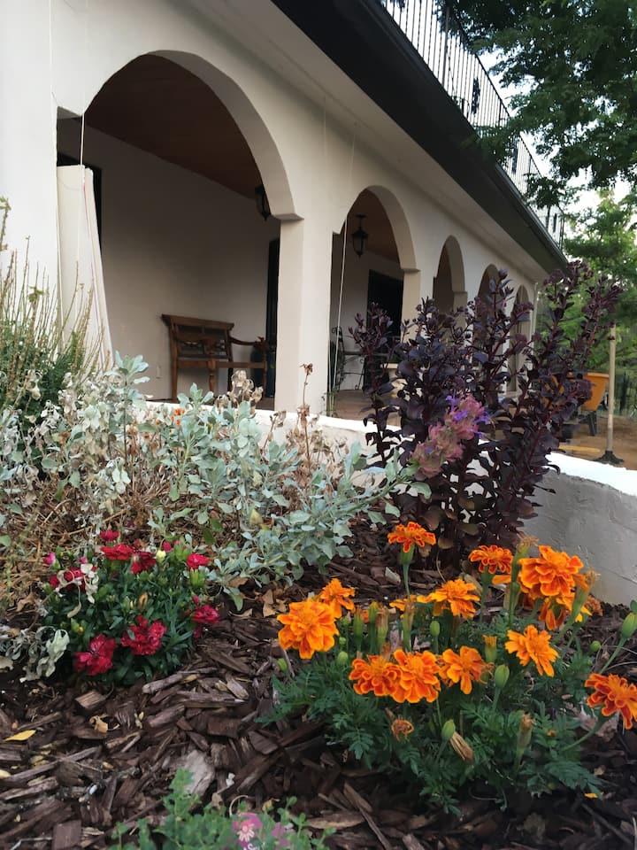 Old World Mediterranean Garden Retreat by Boulder.
