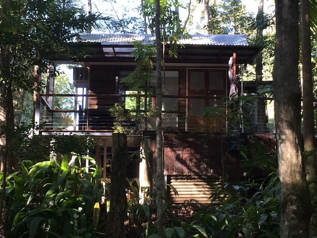 Rainforest Creek Cabin - Maleny - Houten huisje