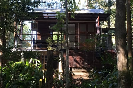Rainforest Creek Cabin - Maleny - Blockhütte