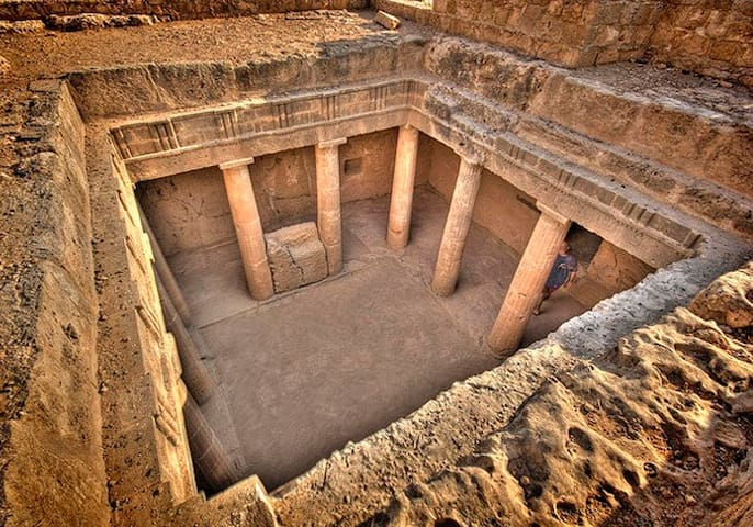 Tombs of kings.