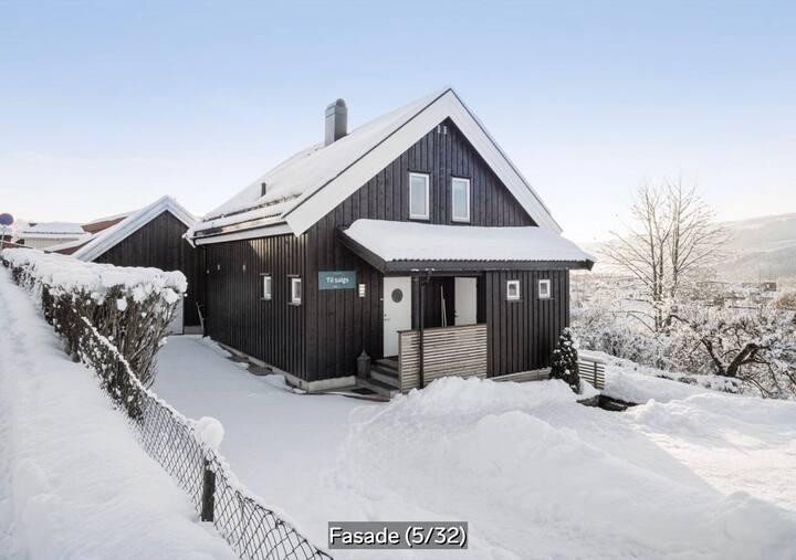 Villa i Lillehammer sentrum.