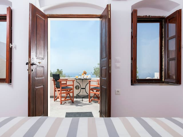 BOUTIQUE HOTEL SEA VIEW MASTER APARTMENT - Pyrgos Kallistis - Appartement