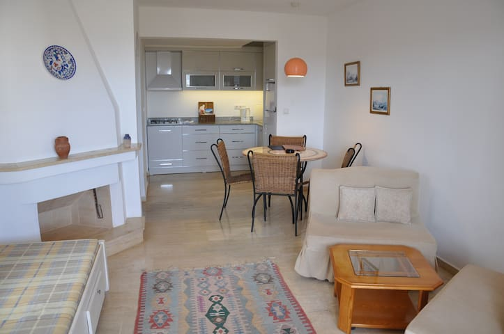 One bedroom Korsan Apartment No 3 with two pools