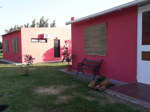 Ñacurutú relax en hostería rural parque/piscina *M