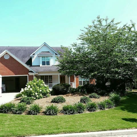 Beautifully landscaped home