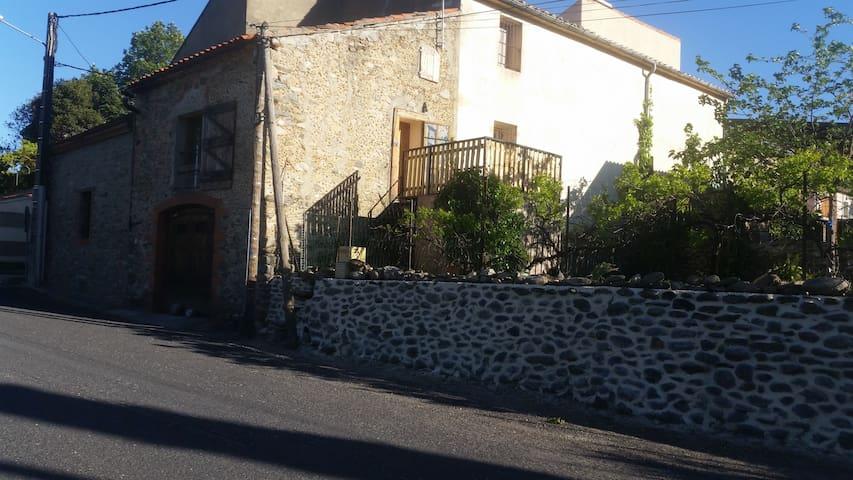 Maison avec jardin entre mer et montagne - Vinça - Casa