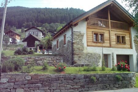 Chalet Charm è unico nel suo genere nella valle.