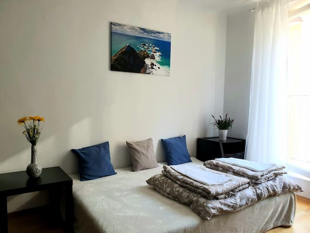Charming and freshly bright room in Vienna center