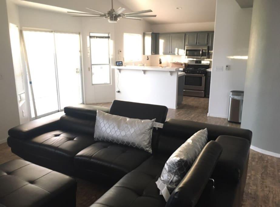 Shared Living room & Kitchen