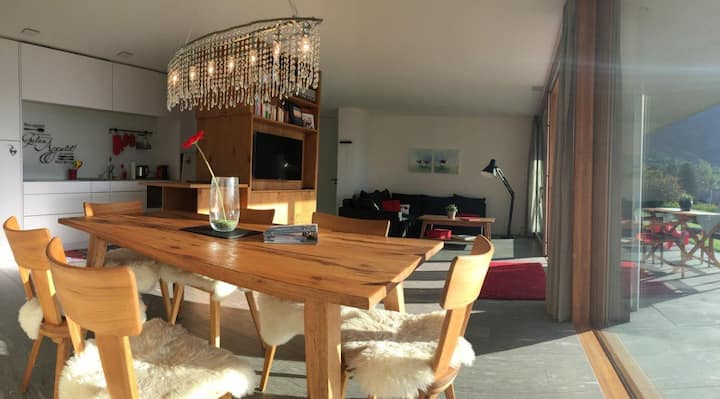 Casa Admisa, (Flims Dorf), 2623, 3.5 apartments, 2 showers /2 toilets, 85 m2, for max. 6 persons