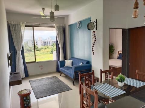 Queen's Casa 2 - 1BHK Apartment in Varsoli Alibaug