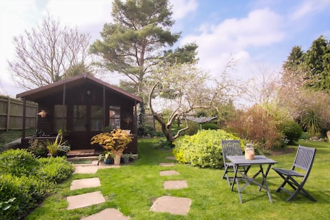 Záhradné štúdio ponúka útulný priestor