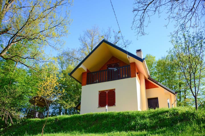 Lovely holiday house with big, private garden,  1.5km from well known SPA centre