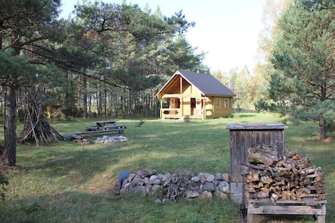Cozy and private getaway in nature of Saaremaa