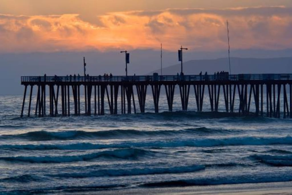 A short drive or bike ride to downtown Pismo