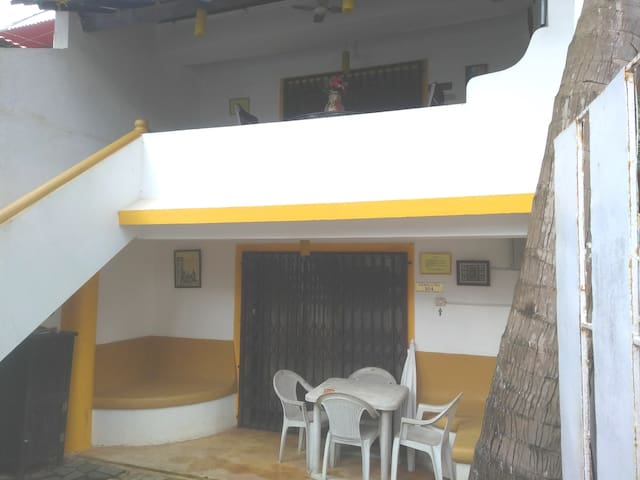 The property consists  of 2 self contained rooms.104 is room located on the ground floor.and 105 is room on the first floor