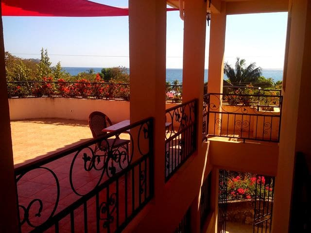 Apartments with ocean view.  200 Mts to the beach.