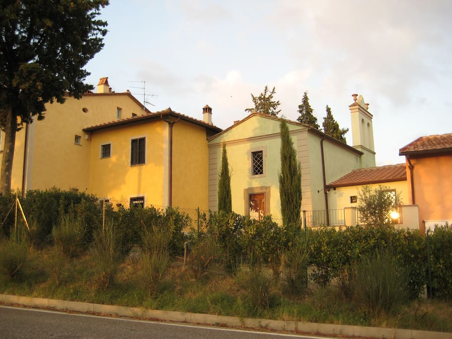 Borgo San Vito Di Ortimino is a restored hamlet, or village, which dates back to the 12th c. and was once owned by the Vatican.