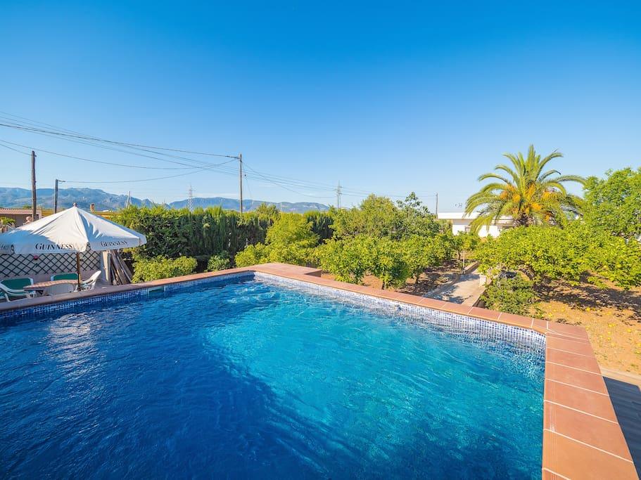 Can peral casa rural con piscina bbq y wifi casas en for Piscina palma de mallorca