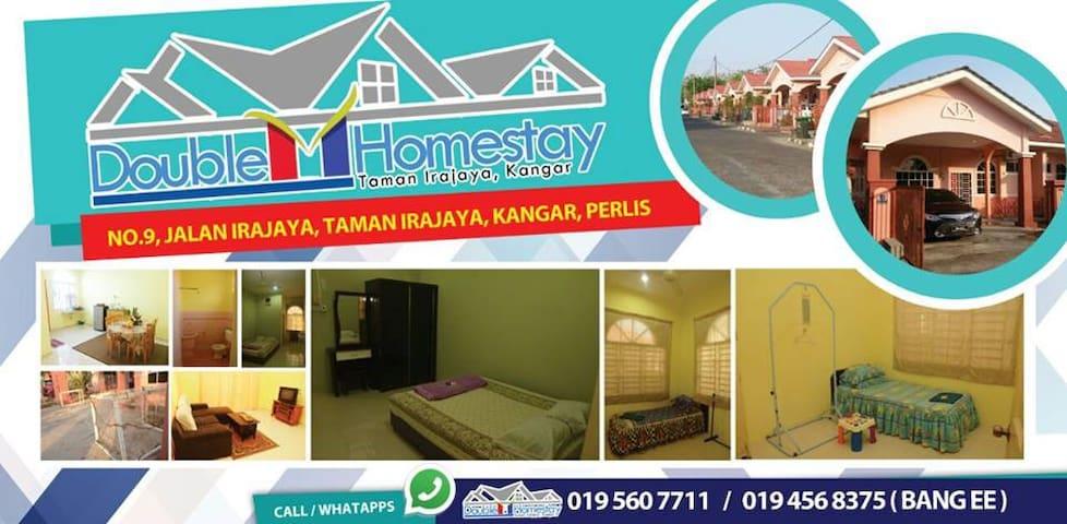 FREE WIFI HOMESTAY MOTEL STYLE - Kangar - House