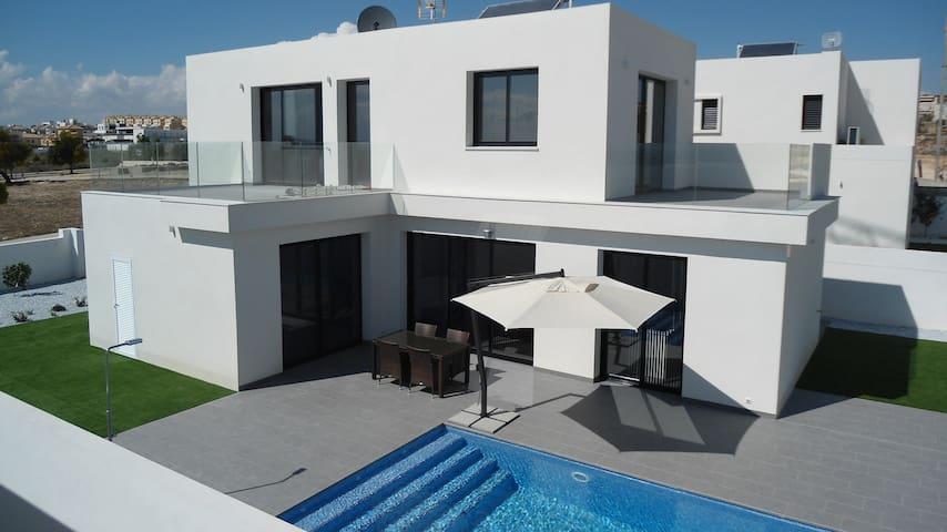 Luxueus overnachten in moderne villa - San Fulgencio