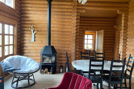 Cosy cabin with amazing view on the Geysir