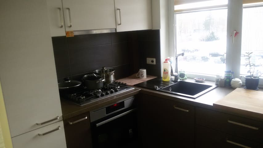 kitchen with all equipment