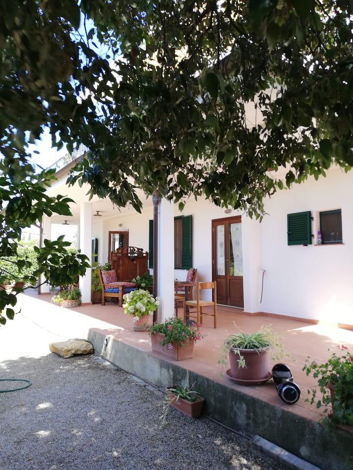 Appartamento in tipico casale maremmano