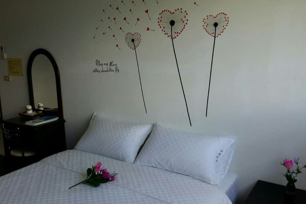 媲美飯店級寢具乾淨舒適,讓旅人們有一夜好眠!
