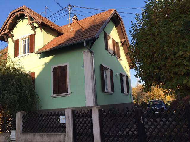 Appart cosy rdc maison campagne proche Strasbourg - Geispolsheim - Apartmen