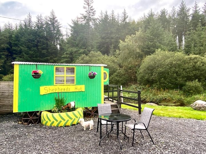 Ox Mountain Shepherds Hut - glamping