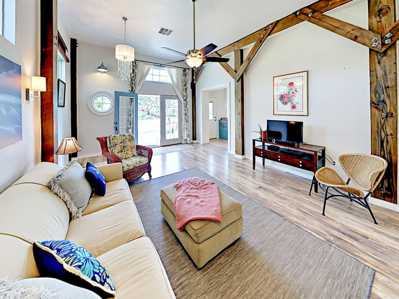 This stunning home is professionally managed by TurnKey Vacation Rentals.