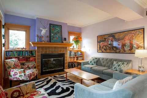 Cozy and comfortable Linden Hills home