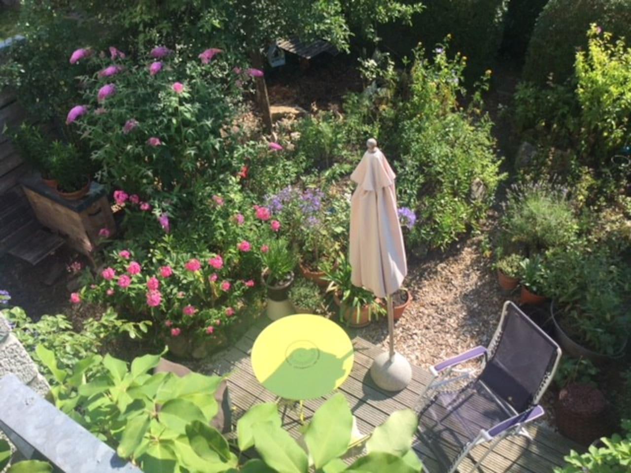 Ruheplatz in Münster: gemütlich, sonnig und stadtnah