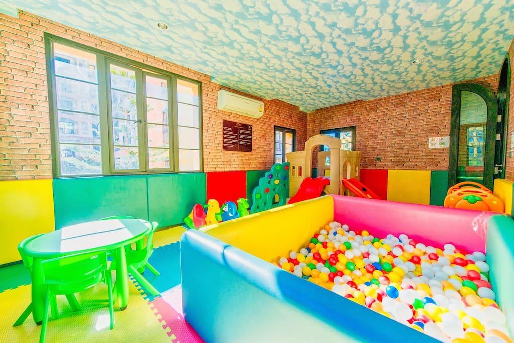 Children's play room.