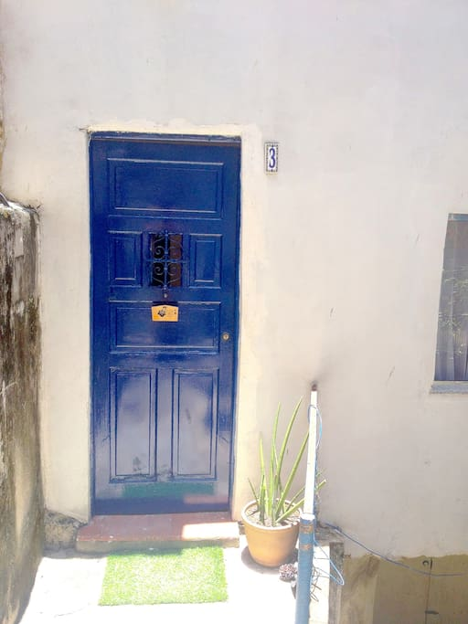 House's entrance