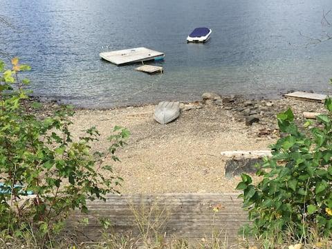 Floating Dock, Shuttle Beach deck